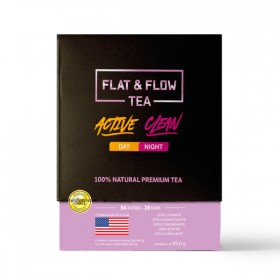 Flat Flow Tea (2 sachês 44,8g cada)