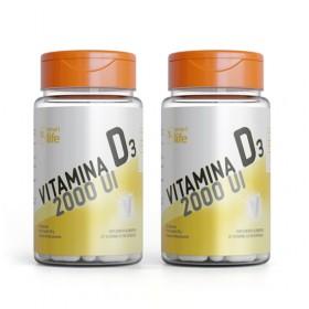 Combo 2x Vitamina D - 60 cápsulas