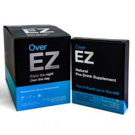 Over EZ Caixa de 6 cartuchos com 12 cápsulas cada